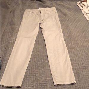 Khaki skinny pants!